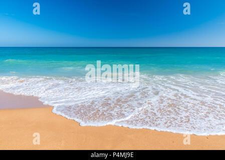 Beautiful beach and coast in Portugal, Algarve - Stock Photo