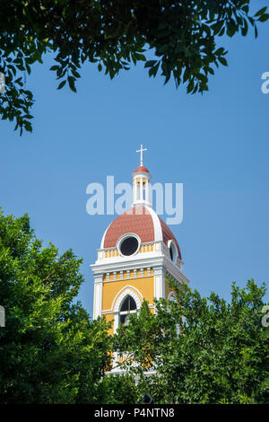 Details of the famous Cathedral in Granada, Nicaragua. - Stock Photo