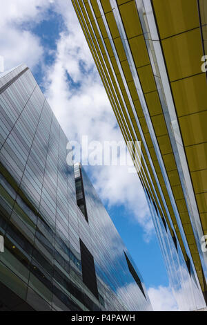 architectural abstract, london - Stock Photo