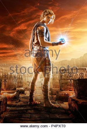 Original Film Title: GODS OF EGYPT.  English Title: GODS OF EGYPT.  Film Director: ALEX PROYAS.  Year: 2016.  Stars: BRENTON THWAITES. Credit: CONCORDE CLOCK CINEMA/SUMMIT ENT/THUNDER ROAD PICTURES / Album - Stock Photo