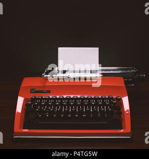 Typewriter, Schreibmaschine - Stock Photo