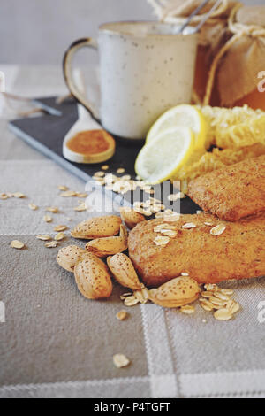 Healthy breakfast against common cold - Stock Photo