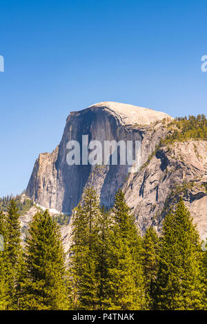 yosemite  national park when sunrise. - Stock Photo