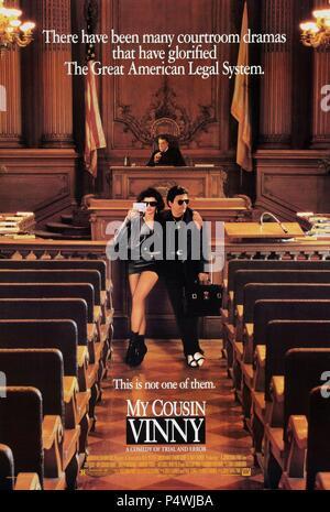 Original Film Title: MY COUSIN VINNY.  English Title: MY COUSIN VINNY.  Film Director: JONATHAN LYNN.  Year: 1992. Credit: 20TH CENTURY FOX / Album - Stock Photo