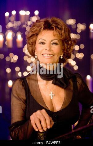Original Film Title: ANN.  English Title: ANN.  Film Director: ROB MARSHALL.  Year: 2009.  Stars: SOPHIA LOREN. Credit: WEINSTEIN COMPANY, THE / Album - Stock Photo