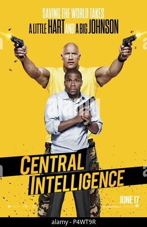 Original Film Title: CENTRAL INTELLIGENCE.  English Title: CENTRAL INTELLIGENCE.  Film Director: RAWSON MARSHALL THURBER.  Year: 2016. Credit: NEW LINE CINEMA/BLUEGRASS FILMS/PRINCIPATO-YOUNG ENTERTAINME / Album - Stock Photo