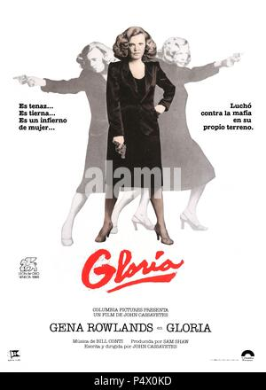Original Film Title: GLORIA.  English Title: GLORIA.  Film Director: JOHN CASSAVETES.  Year: 1980. Credit: COLUMBIA PICTURES / Album - Stock Photo