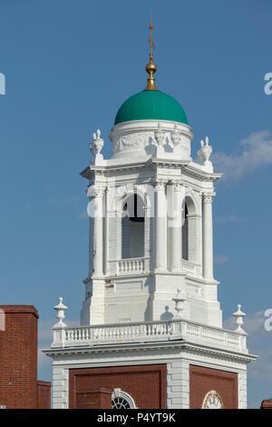bellower, Eliot House, Harvard University, Cambridge, Massachusetts , USA - Stock Photo