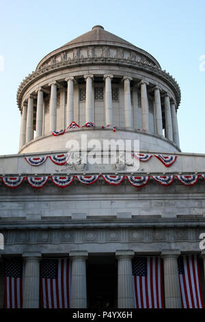 NEW YORK, NY - JUNE 18: Exterior of General Grant National Memorial in Morningside Heights in Manhattan on JUNE 18th, 2017 in New York, USA. (Photo by - Stock Photo
