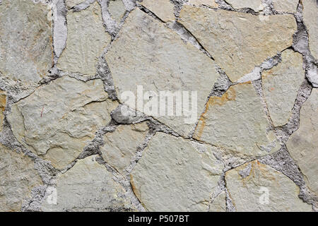 Backgrounds, Textured - Abstract Stone cladding brick wall - Stock Photo