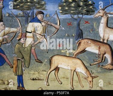 le livre de chasse book of the hunt by gaston phobus 1331 1391