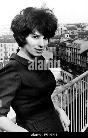 La cantante italiana Iva Zanicchi. - Stock Photo