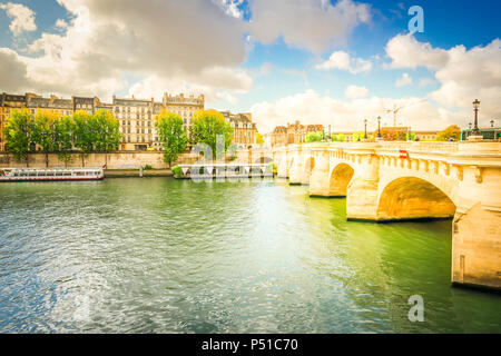 Pont Neuf, Paris, France - Stock Photo
