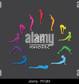 sun salutation yoga asanas surya namaskar a sequence