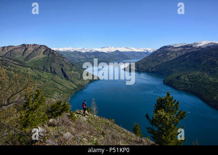 Pristine Kanas Lake National Park, Xinjiang, China - Stock Photo