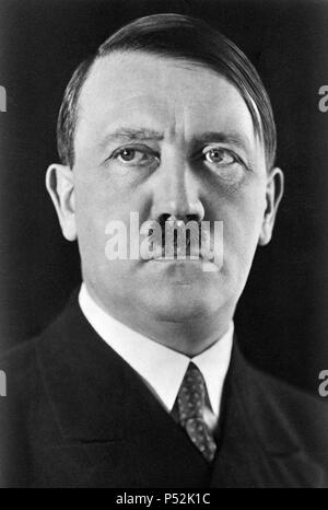 Adolf Hitler, leader of the National Socialist German Workers Party. - Stock Photo