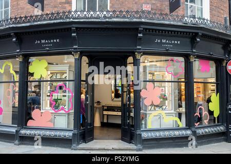 Jo Malone store in York, Uk - Stock Photo
