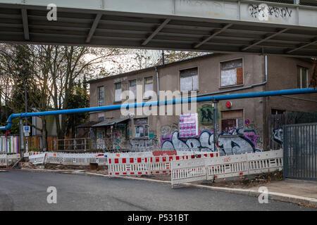 Berlin, Germany, Club about blank on the Markgrafendamm in Berlin-Friedrichshain - Stock Photo