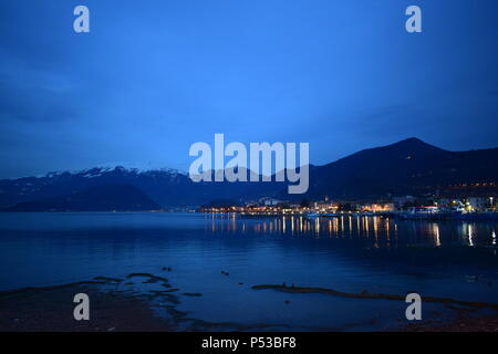 view o iseo lake - Stock Photo