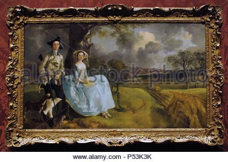 thomas gainsborough mr and mrs andrews cropped missing. Black Bedroom Furniture Sets. Home Design Ideas
