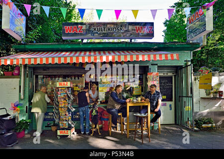 Germany, North Rhine-Westphalia kiosks in the Ruhr area - Stock Photo