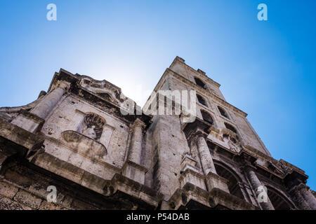 HAVANA, CUBA - CIRCA MAY 2016:  Convento San Francisco de Asis in Havana. - Stock Photo