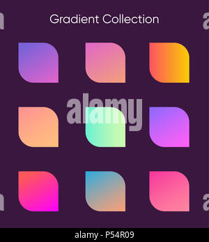 gradient sample set colorful gradients for poster banner flyer