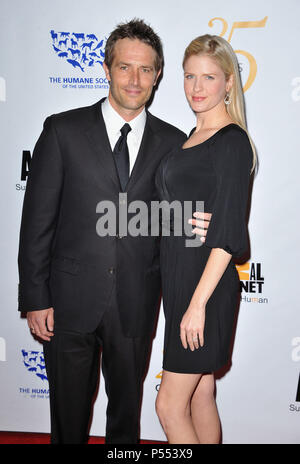 Michael Vartan, Lauren Skaar   at 25th Anniversary Genesis Awards-2011 at the Century Plaza Hotel In Los Angeles.a_Michael Vartan, Lauren Skaar _14 ------------- Red Carpet Event, Vertical, USA, Film Industry, Celebrities,  Photography, Bestof, Arts Culture and Entertainment, Topix Celebrities fashion /  Vertical, Best of, Event in Hollywood Life - California,  Red Carpet and backstage, USA, Film Industry, Celebrities,  movie celebrities, TV celebrities, Music celebrities, Photography, Bestof, Arts Culture and Entertainment,  Topix, vertical,  family from from the year , 2011, inquiry tsuni@Ga - Stock Photo