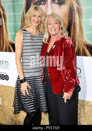 Laura Dern, Diane Ladd  at the Enlightened Premiere at the Paramount Theatre In Los Angeles.Laura Dern, Diane Ladd _28 ------------- Red Carpet Event, Vertical, USA, Film Industry, Celebrities,  Photography, Bestof, Arts Culture and Entertainment, Topix Celebrities fashion /  Vertical, Best of, Event in Hollywood Life - California,  Red Carpet and backstage, USA, Film Industry, Celebrities,  movie celebrities, TV celebrities, Music celebrities, Photography, Bestof, Arts Culture and Entertainment,  Topix, vertical,  family from from the year , 2011, inquiry tsuni@Gamma-USA.com Husband and wife - Stock Photo