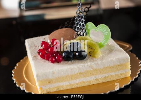 yogurt cake - Stock Photo