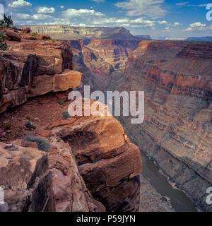 Colorado River, Toroweap Overlook, Grand Canyon National Park, Arizona - Stock Photo