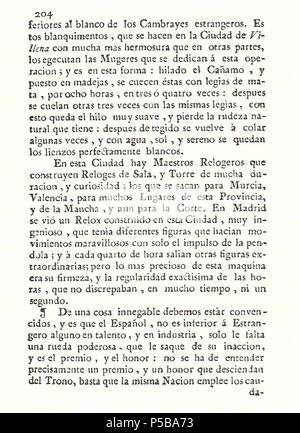 N/A. Español: Es un escaneo de la revista 'Correo General de España' que versa sobre Villena . 1771. Marino Nipho 382 Correo.1771-02-22--204