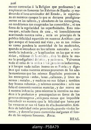N/A. Español: Es un escaneo de la revista 'Correo General de España' que versa sobre Villena . 1771. Marino Nipho 382 Correo.1771-02-22--206