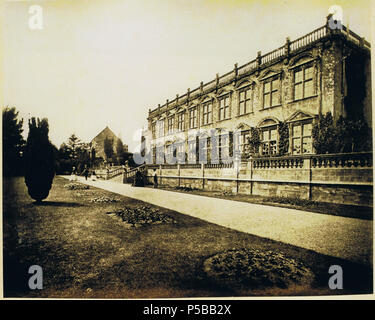 N/A. English: Brympton d'Evercy (also known as Brympton House), a manor house near Yeovil in the county of Somerset, England. circa 1860. Anon. But uploaded by R. de Salis, meRodolph2 (talk) 00:33, 24 July 2014 (UTC) 244 Brympton d'Evercy c1860 - Stock Photo