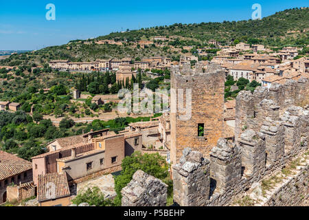 Alquezar, Aragon, Spain - Stock Photo