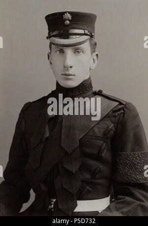 by Alexander Bassano, vintage print, 1900s 72 Alan Ian Percy 8th Duke of Northumberland - Alexander Bassano - pre-1913 - Stock Photo