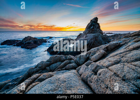 Matterhorn Rock, Big Sur, California, USA - Stock Photo