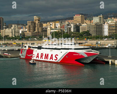 Car Ferry Spain To Canary Islands