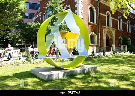 City Of London Public Art Programme Sculpture in The City Opens In London's Square Mile 26 June 2018 - Stock Photo