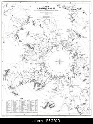 1834 S.D.U.K. Comparative Map or Chart of the World's Great Rivers - Geographicus - ComparativeRivers-sduk-1834. - Stock Photo