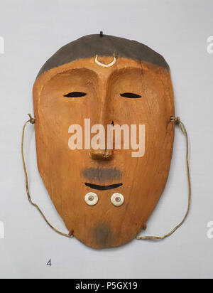 N/A. English: Exhibit from the Native American Collection, Peabody Museum, Harvard University, Cambridge, Massachusetts, USA. Photography was permitted without restriction; exhibit is old enough so that it is in the . 27 May 2017, 14:22:05. Daderot 409 Dance mask, Bering Straight Eskimo, acquired 1909 - Native American collection - Peabody Museum, Harvard University - DSC05859 - Stock Photo