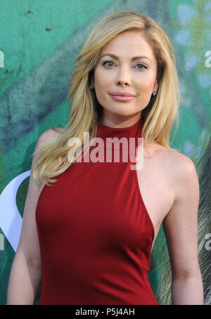Los Angeles, USA. 26th Jun, 2018. Actress Malea Rose attends HBO's premiere of 'Sharp Objects' on June 26, 2018 at The Cinerama Dome in Los Angeles, California. Photo by Barry King/Alamy Live News - Stock Photo
