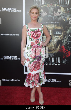 Los Angeles, USA. 26 June 2018 - Westwood, California - Elisabeth Rohm. Premiere of 'Sicario: Day of the Soldado' held at Westwood Regency Theater. Photo Credit: PMA/AdMedia Credit: Pma/AdMedia/ZUMA Wire/Alamy Live News - Stock Photo