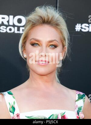 Los Angeles, CA, USA. 26th June, 2018. Elisabeth Rohm at arrivals for SICARIO: DAY OF THE SOLDADO Premiere, Regency Village Theatre - Westwood, Los Angeles, CA June 26, 2018. Credit: Elizabeth Goodenough/Everett Collection/Alamy Live News - Stock Photo