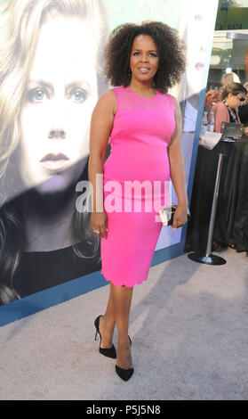 Los Angeles, USA. 26th Jun, 2018. Actress Paula Newsome attends HBO's premiere of 'Sharp Objects' on June 26, 2018 at The Cinerama Dome in Los Angeles, California. Photo by Barry King/Alamy Live News - Stock Photo