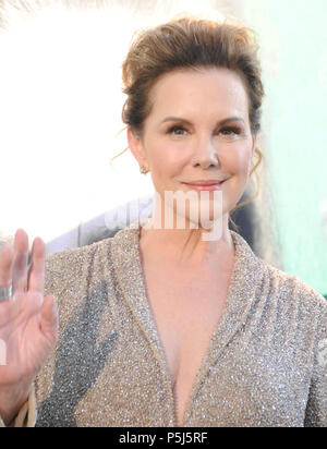 Los Angeles, USA. 26th Jun, 2018. Actress Elizabeth Perkins attends HBO's premiere of 'Sharp Objects' on June 26, 2018 at The Cinerama Dome in Los Angeles, California. Photo by Barry King/Alamy Live News - Stock Photo