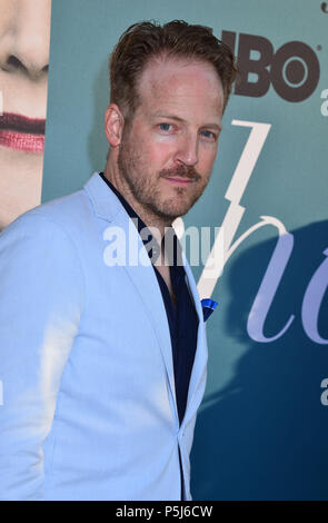 Los Angeles, USA. 26th Jun, 2018. David Sullivan attends HBO's Sharp Objects Los Angeles premiere at ArcLight Cinerama Dome on June 26, 2018 in Hollywood, California Credit: Tsuni / USA/Alamy Live News - Stock Photo