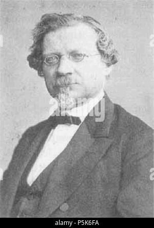 N/A. August Wilhelm (von) Hofmann (* 8. April 1818 in Gießen; † 5. Mai 1892 in Berlin) . circa 1871. Carl Günther (1827-1912), Berlin, Dorotheenstraße 83, deutscher Fotograf 50 A. W. Hofmann ca1871 - Stock Photo
