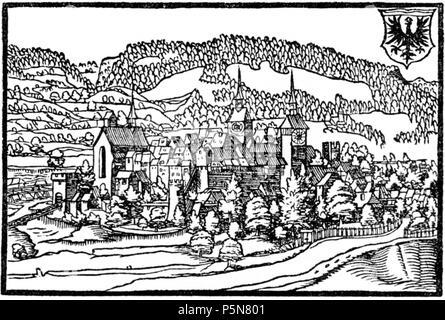 N/A. Deutsch: Die Stadt Aarau, Holzschnitt aus der Stumpfschen Chronik 1548 English: The City of Aarau, Switzerland, in the cronical of Stumpf, 1548 . 1548. Johannes Stumpf, upload by sidonius 10:41, 20 February 2007 (UTC) 51 Aarau stumpf - Stock Photo