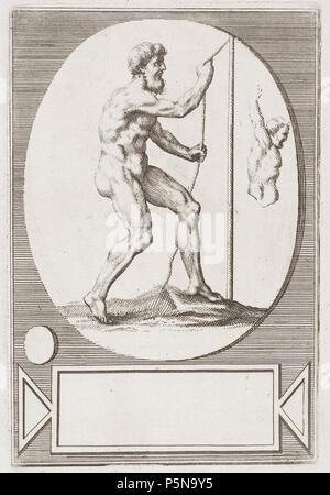 N/A. Grafik aus dem Klebeband Nr.13 der Fürstlich Waldeckschen Hofbibliothek Arolsen Motiv: . between 1600 and 1800. Unknown 137 Arolsen Klebeband 13 152 - Stock Photo